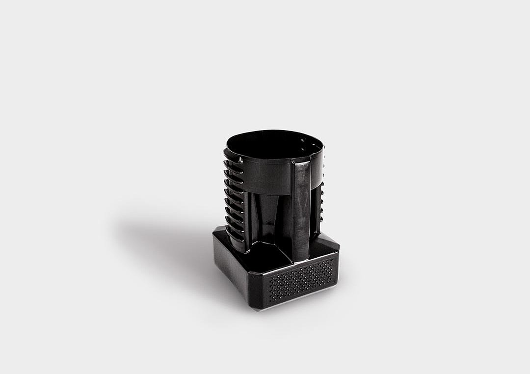 SK-Pack CenterLock: a stackable and ergonomic packaging solution for shank tool holders.