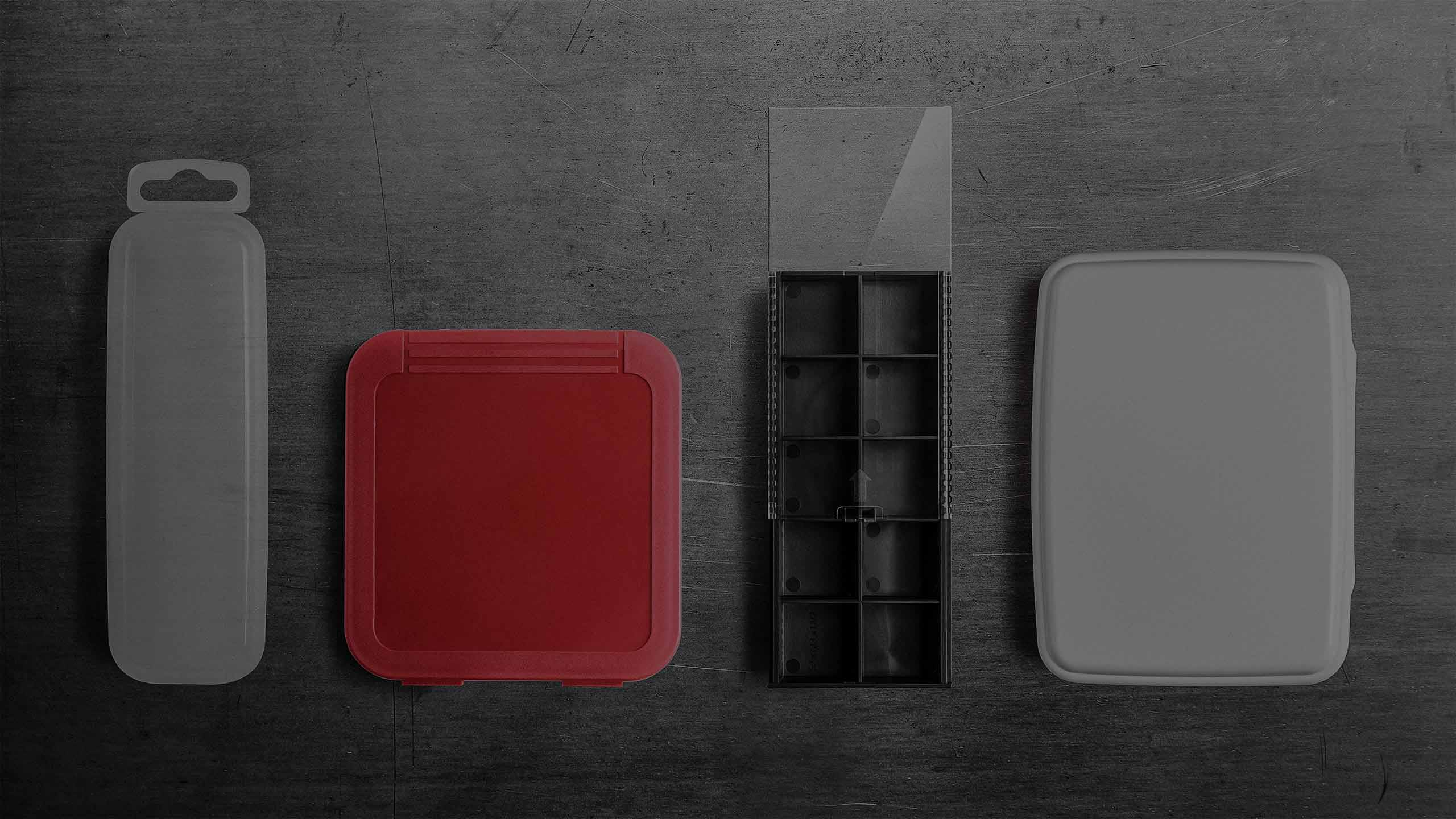 Plastic packaging boxes by rose plastic.