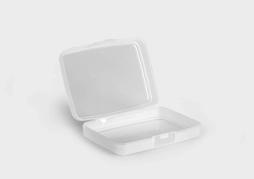 Box Di Plastica Vendita.Consumerbox Scatola In Plastica Con Coperchio Incernierato