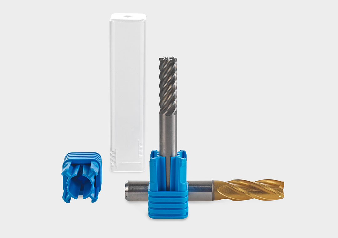TopPack XPress: the ideal packaging tube for milling cutters, shank tools and drills.
